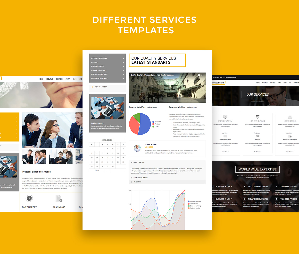 Accountant — Accounting WordPress Template - 5