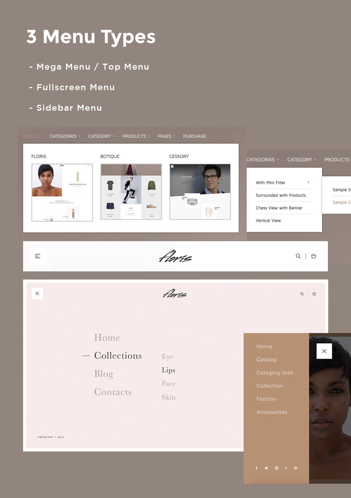Floris — Fashion Shopping WordPress Theme - 8