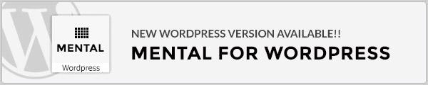 Mental - Premium Multipurpose Portfolio + Onepage